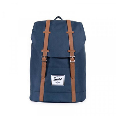 RETREAT NAVY/TAN SYNTHETIC LEATHER