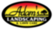 Adam's Landscping Logo