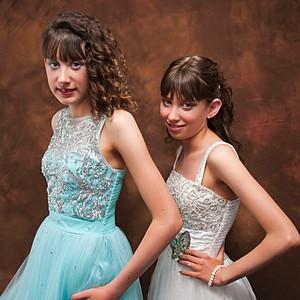 Karly & Kaylee prom