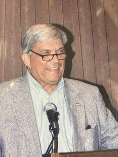 Former President, Hugh Jarvis