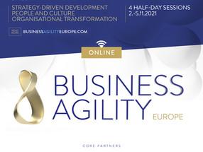 Business Agility Europe 2021 veebikonverents