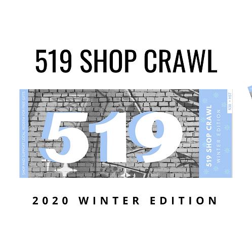 2020 519 SHOP CRAWL - 2020 Winter Edition