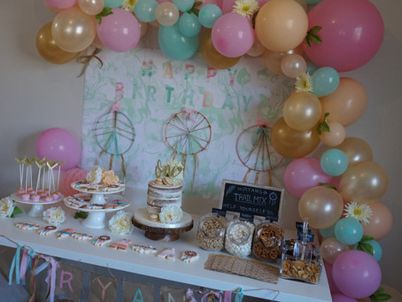 Boho Chic 1st birthday