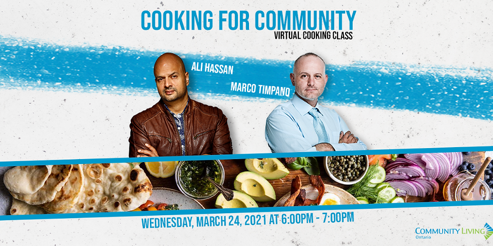 Virtual Cooking Class with CBC host and comedian Ali Hassan
