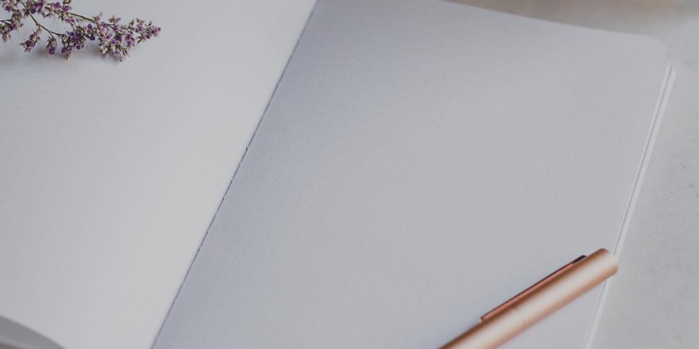 Journal Créatif offert par Sophie Terrasse, M.A., Art-thérapeute