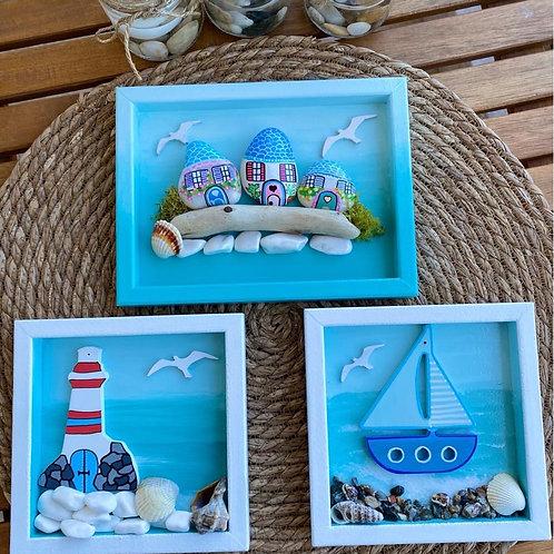 3 lü deniz konsepti