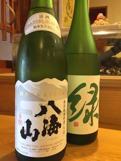 新潟地酒 緑 八海山