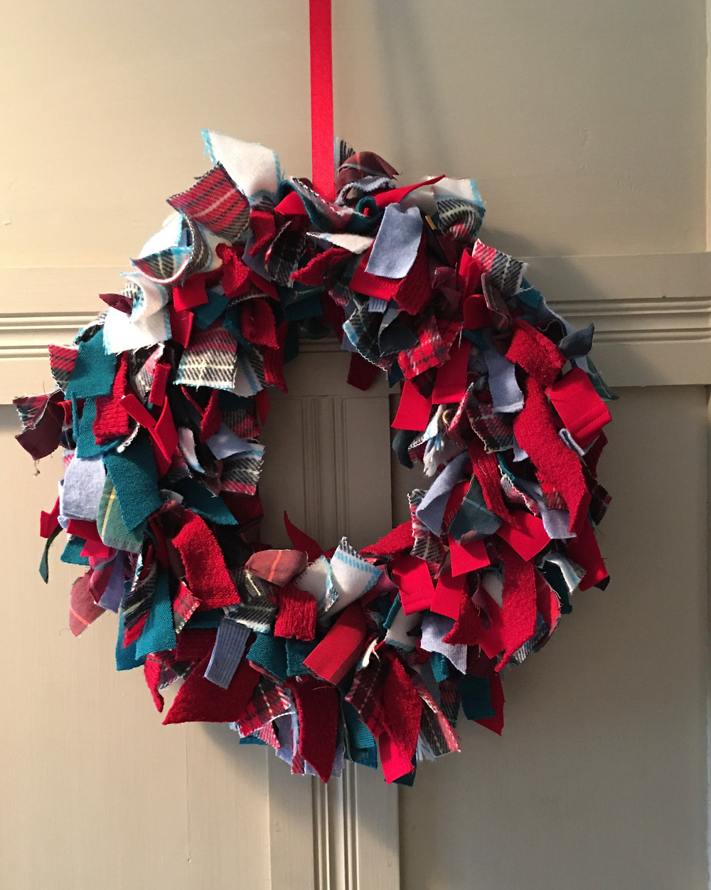 A wreath made by The Creative Accountant