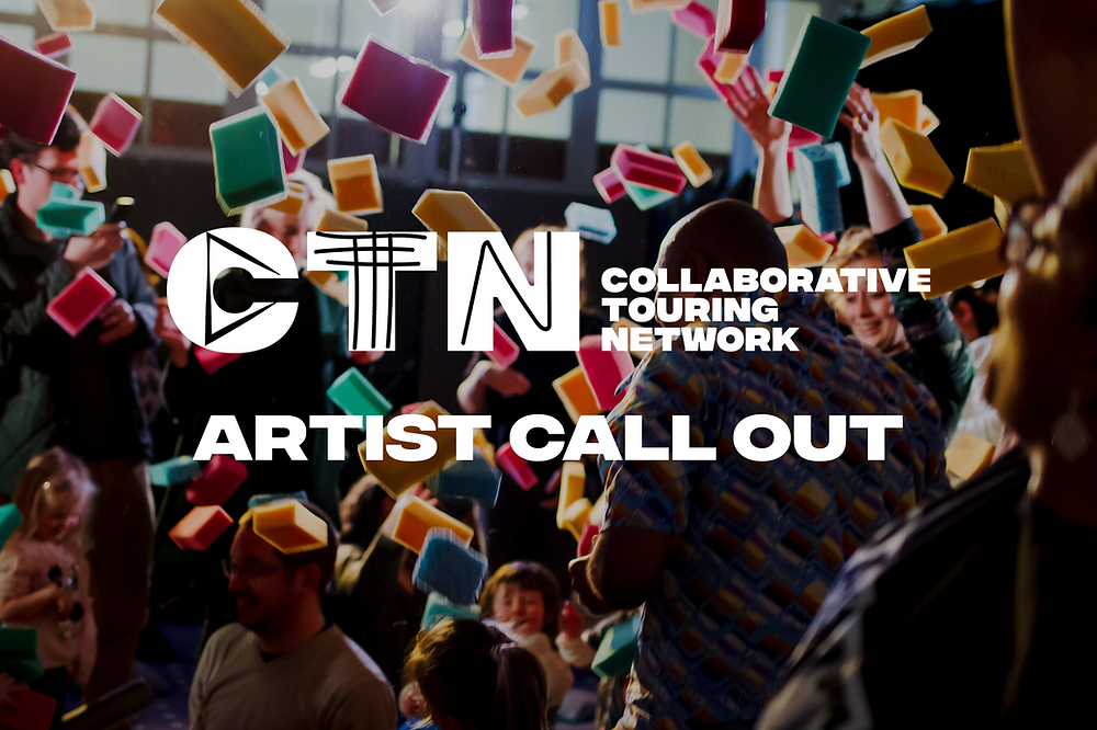 CTN logo graphic overlayed on a group of people throwing sponges into the air.