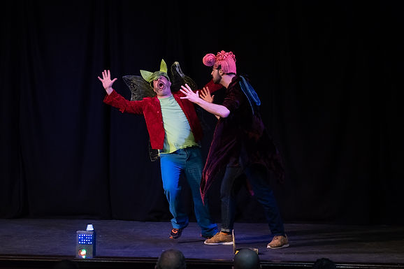 GRIMM: ARTISTS TAKE FIRST STEPS INTO THE WORLD OF CREATING IMPROV FOR CHILDREN