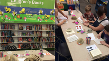 Workshops at Tyldesley Library with Kate Bufton