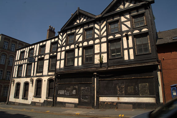 THE OLD COURTS' PLANS FOR WIGAN'S GRAND HOTEL