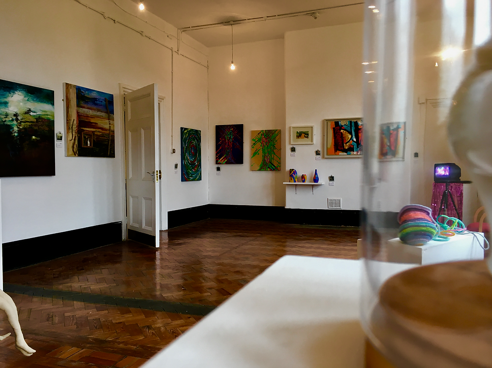 Art gallery at the Old Courts
