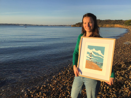 MEET THE MAKERS: NOÉMIE COURANT LINOCUT ARTIST