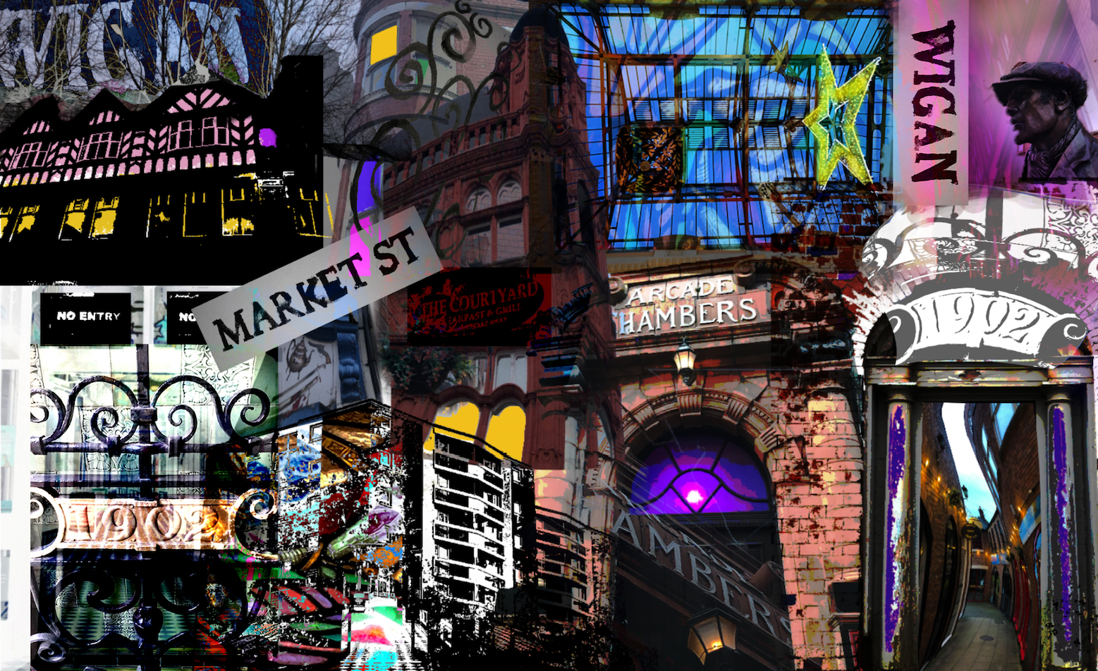 Wigan Collage 1
