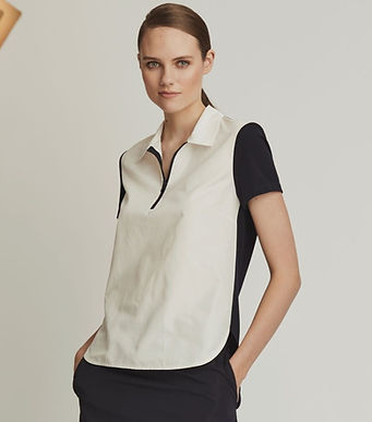 Radzimir Front With Knit-Back Top