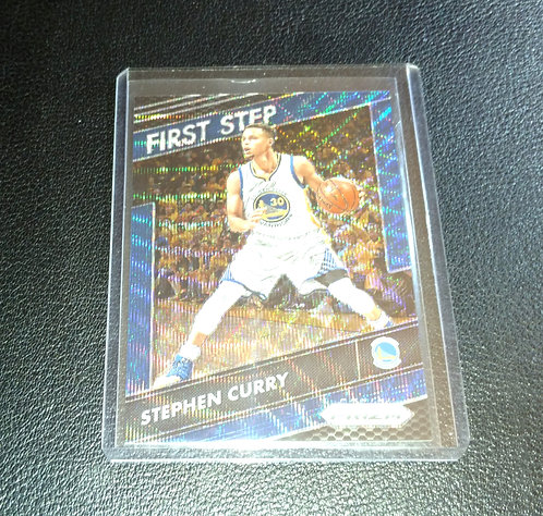 1/99 STEPHEN CURRY 16-17 Panini First Step Blue