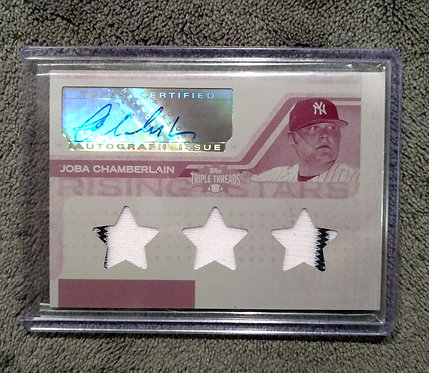 1/1 JOBA CHAMBERLAIN 08 Topps Triple Threads Pate
