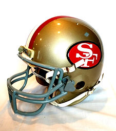 1985 49ers Roger Craig Game Used Super Bowl Helmet