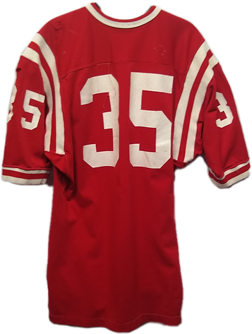 Jeff Kinney game used jersey
