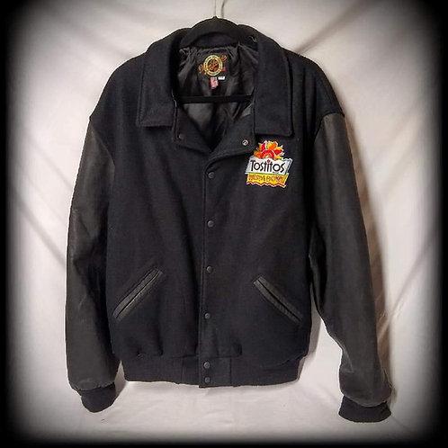 NEBRASKA 1996 Tostitos Fiesta Bowl 95 NATIONAL CHAMPIONS Leather Letter Jacket