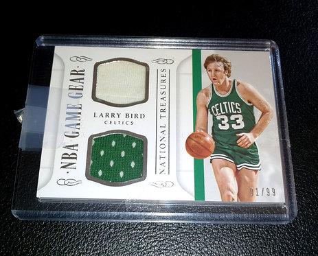 1/99 LARRY BIRD NBA Game Gear National Treasures