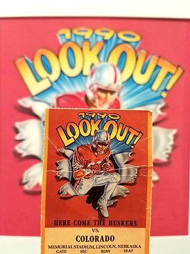 "Joe Mcdermott Original Artwork ""1990 LOOK OUT"""
