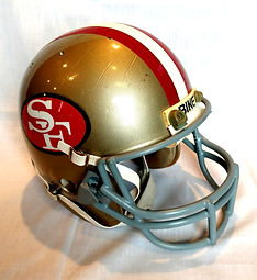 1985 49ers Roger Craig Game Worn Super Bowl Helmet