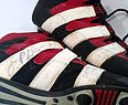Nebraska Cornhuskers Lawrence Phillips Used Signed Cleats
