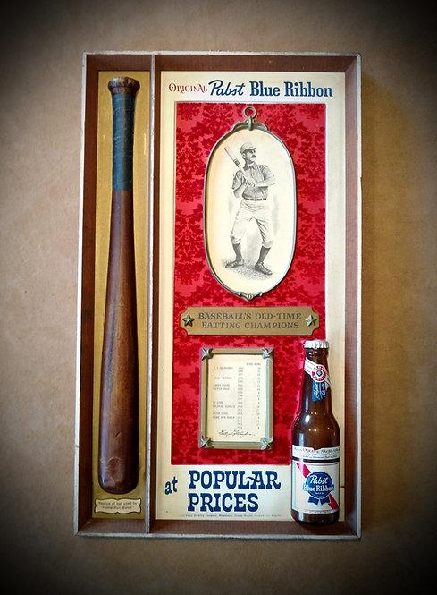 RARE PBR Pabst Blue Ribbon Baseball's Old-Time Pic