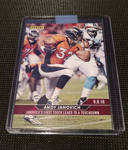 ANDY JANOVICH 2016 FIRST ROOKIE PANINI SP ONLY 78