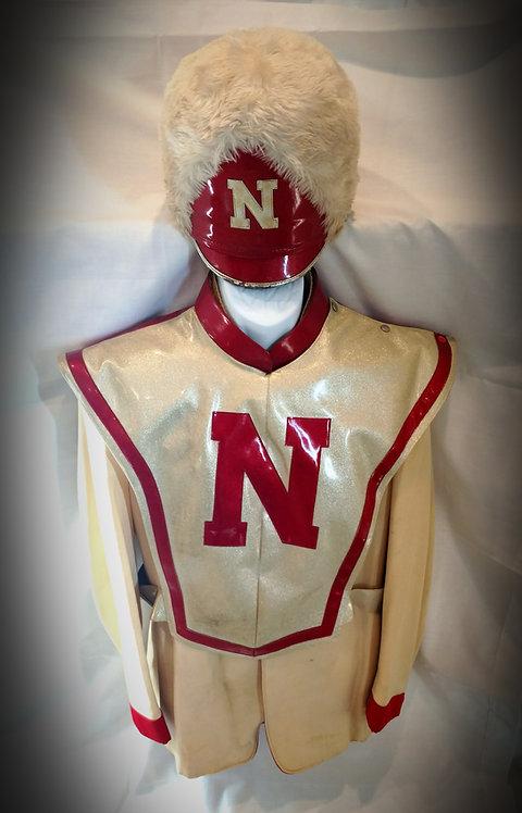 1970's Nebraska Cornhuskers Marching Band Uniform