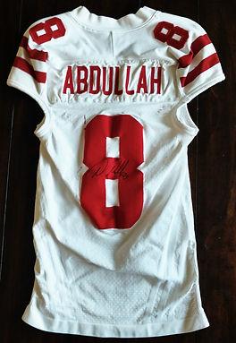 Nebraska Cornhuskers Ameer Abdullah Game Worn Jersey Big 10 Inaugural Season