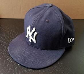 New York Yankees Rookie Aaron Judge Game Used Ball Hat STEINER MLB