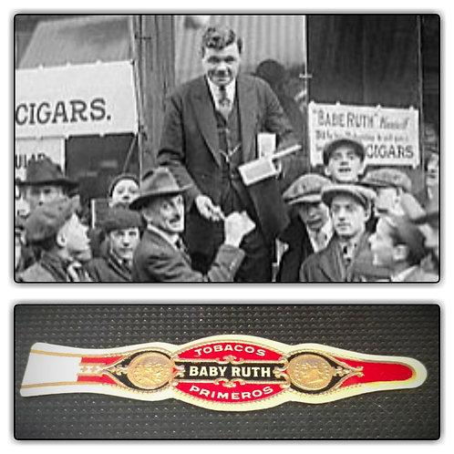Vintage Tobacos BABY RUTH Primeros Cigar Band