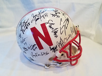 1995 Nebraska Cornhuskers Team Signed Football Hemet National Champs