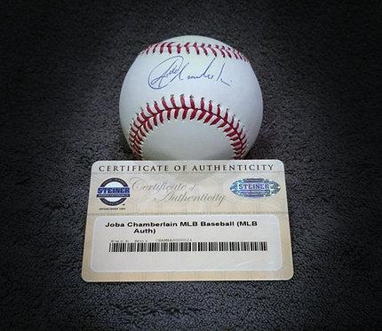Joba Chamberlain Signed MLB Baseball Steiner COA