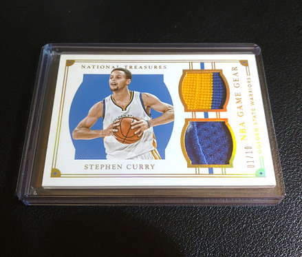 1/10 STEPHEN CURRY 15-16 Panini NT NBA Game Gear