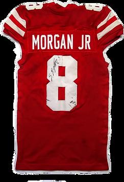Stanley Morgan Jr. Game Used Nebraska