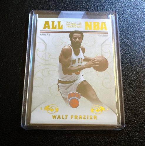 1/25 WALT FRAZIER 2010 Panini All NBA Na Treasures