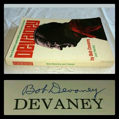 "BOB DEVANEY Signed Book ""DEVANEY"" by Bob Devaney and Friends"