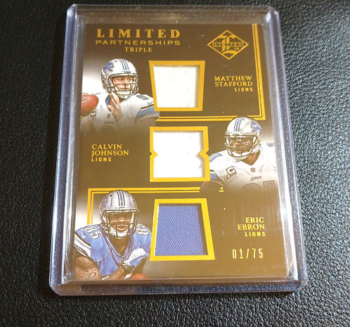 1/75 CALVIN JOHNSON Stafford Limited Partnership
