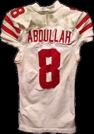 Ameer Abdullah game used Nebraska