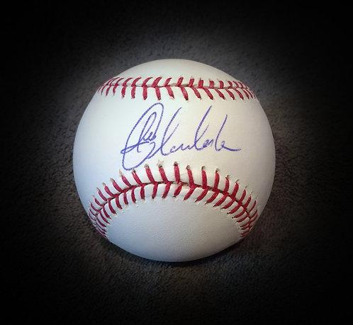 Joba Chamberlain Signed MLB Baseball Yankees