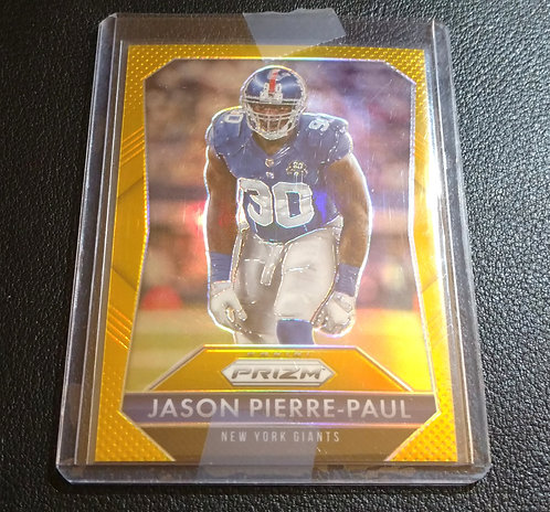 1/10 JASON PIERRE-PAUL 2015 Panini Prizm GOLD
