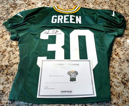 2000 Ahman Green Practice Worn Green Bay Packers Jersey (Heritage Auctions)