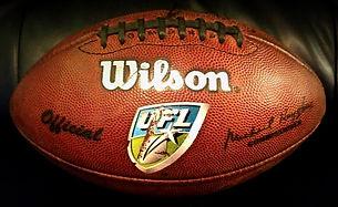 2010 UFL Championship Johnny Roseblatt Stadium Game Used Football