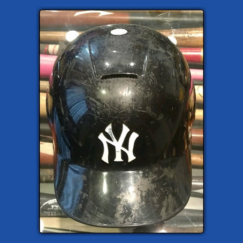 2016 New York Yankees Team Used Rawlings Helmet