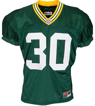 Nebraska Cornhuskers Ahman Green Green Bay Packers Practice Used Jersey