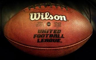 2010 UFL Championship Las Vegas Locos Vs. Florida Tuskers Johnny Roseblatt Stadium Game Used Football Last Stand